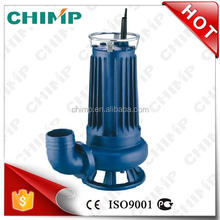 Chinese Supplier Chimp WQ Series 2'' 1HP High Quality 100% Copper Wire Float Switch cutting impeller Submersible Pump