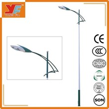 Iron or Q235steel hot-galvanize height street light pole