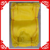 with UV protect firewood mesh bag mesh produce bags ,yellow color