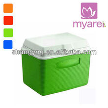 19L blue portable insulated cooling camping ice chest