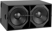 """2*18"""" subwoofer speaker"""