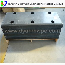 factory Customized black coal bunker liner/ uhmw-pe coal bin liner/ coal liner