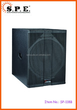 SPE Audio 2015 New Pro Powered 18 inch PA Subwoofer SP-118B