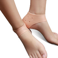 Silica soft gel ankle protector moisture and corn cution remover heel cushion socks