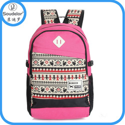 hot sale wholesale cheap canvas backpack