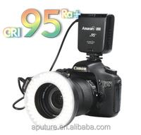 Aputrue Professional DSLR led ring light led macro ring flash