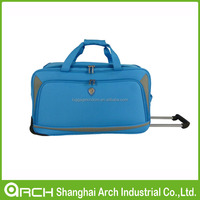 Newest design pure color Luggage & Travel Bags light weight trolley bags