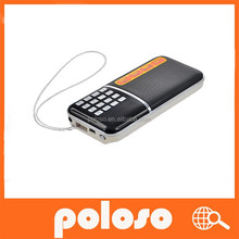 mini portable radio speaker MP3 player with stereo sound support TF card and USB flash drive RF-188
