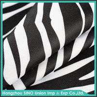 Alibaba China eco friendly 400*300D polyeste oxford fabric manufacturers for bags