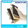 Patended 8000mah power bank,kc1 kerchan cell phone travel charger,2015 new design battery charger