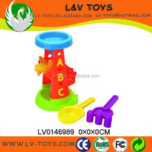 LV0146989 Cheap funny kid playing toy set mini plastic beach shovels summer toy for sale