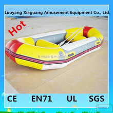Newest design Popualr inflatable swimming boat for adults inflatable boat tent