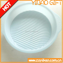 Simply printing and embossing plastic container