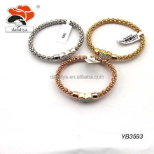 Stainless Steel Hand Chain Snake Magnetic heart Bracelet wholesale for man