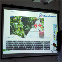 HOT!! Optical Touch Screen Interactive Whiteboard, high quality, CE & ROHS certification