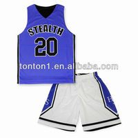 new design basketball jersey and short