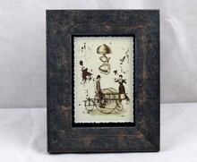 Old 3x3, 4x6, 5x7, 8x10 Handmade Baroque Wood Picture frame For Decor Or Gifts