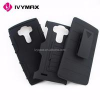 2015 new guangzhou manufacturer phone holster for LG G4 belt clip case