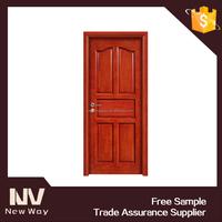 new design 5-panel oak veneer interior door , interior door low cost