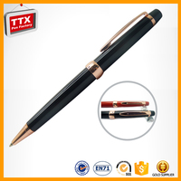 TTX-A750B Personalised pen with stainless steel engraved logo