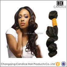 Cheap Unprossed 100% True Virgin Brazilian Loose Wave Virgin Hair Extension
