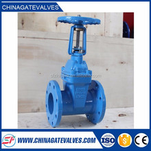 "cast iron 2"" inch water din rising stem gate valve"