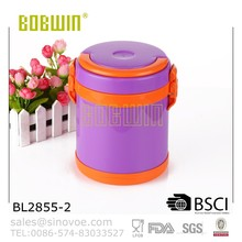 Insulated Food Container With Plastic Lunch Jar