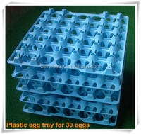 Newest designed plastic egg tray/plastic incubator egg tray for 30 eggs