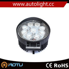 2pcs 27W LED Work Light For 4 x 4 ATV OFFROAD BOAT Lamp Fog Driving Round Flood