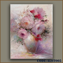 Hot sale oil paintings on canvas flowers