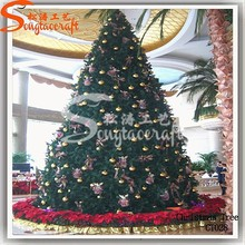2014 new style Christmas Tree made of PVC&PE&Pine needle
