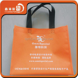 cheap fashionable duffle fashion non-woven bag
