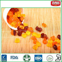 Butterfly Shaped Crystal Mix Flavor Jelly Gummy Candy With oil