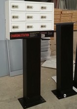 SOPOWER security free lockable supercharge phones station