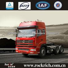 Capacidad de sobrecarga fuerte tractor 380hp camión