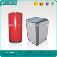 Pretty 7KW DC Inverter Ground Source Water To Water Floor Heating Heat Pump Split type With Electrical Heater,CE Rohs EN14511