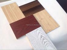 wood grain veneer particle board for furniture /aluminium foil faced particle board using water-based paint