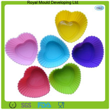 mayoristas reutilizables moldes para pasteles de silicona