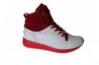 2016 lastest design sports shoes national red sports shoes