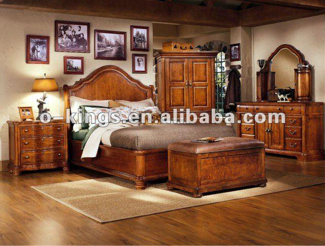 حار بيع!! الأثاث الكلاسيكي غرفة نوم الأمريكية