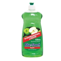 Super concentrated dishwashing liquid with green Apple perfume