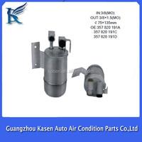 auto car air conditioner receiver drier r134a/ filters / accumulators OEM NO. : 357820191A/357820191C/357820191D