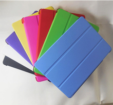 Ultra thin Stand leather case for ipad flip cover with sleep function cases