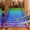 waterproof-silicon tube coating 5050rgb ws2812b led stripe 60pcs