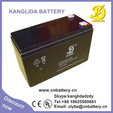 free maintenance sealed type 12v 9ah security alarms system battery
