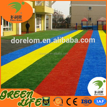 25mm colorful decorative synthetic grass