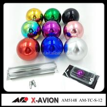 laser number colors aluminum gear knob