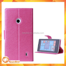 phone case wallet leather custom cover case for nokia lumia 520, for nokia lumia 520 Leather case