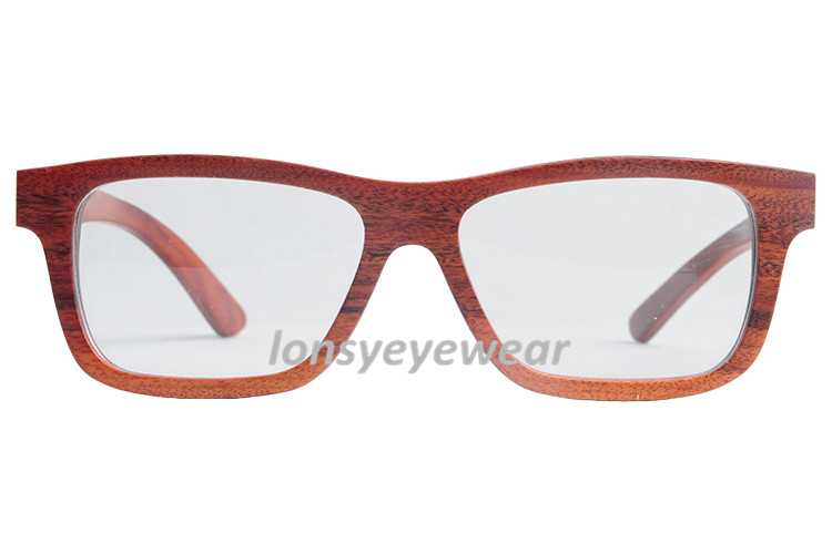 New Arrival Eyewear Ebony Wooden Full Frame Eyeglasses ...