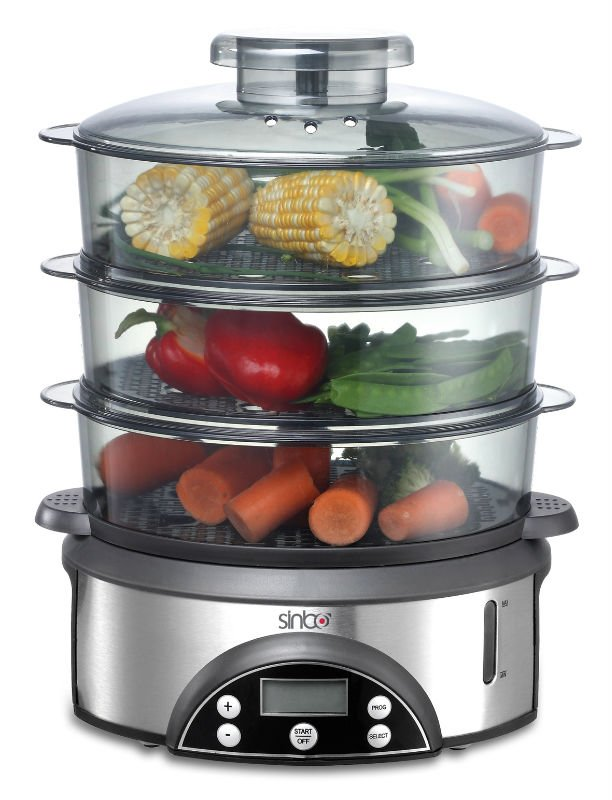 Electric Veggie Steamer ~ Sfs food steamer buy electric product